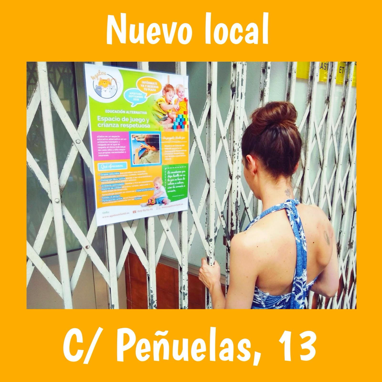 4Gatos-local-peñuelas-empezamos-educación-infantil-acacias-embajadores